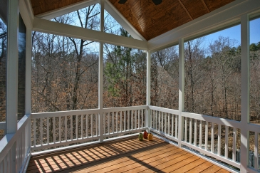 Knowles2014 Exteriro screened porch